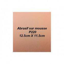 Abrasif sur mousse AMP220