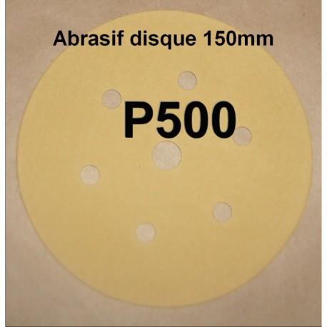 Abrasif disque P500