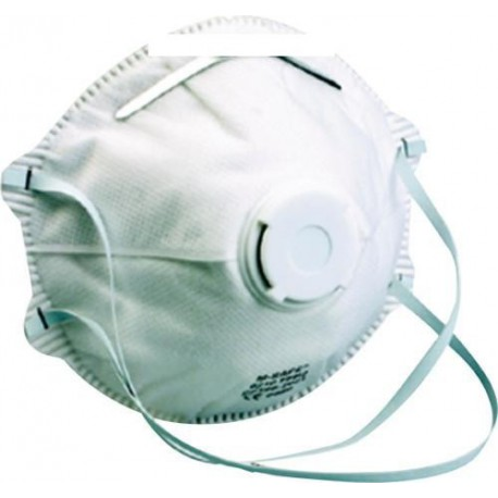 Masque jetable avec valve FPP2