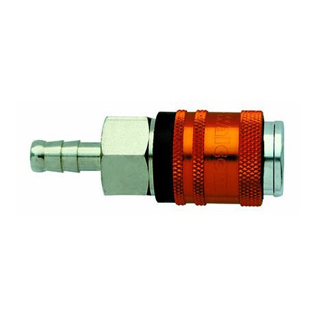 Coupleur WALCOM rapide pneumatique cannelé 8mm
