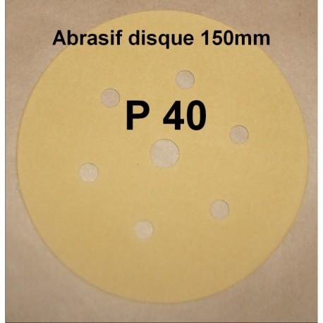 Abrasif disque P40