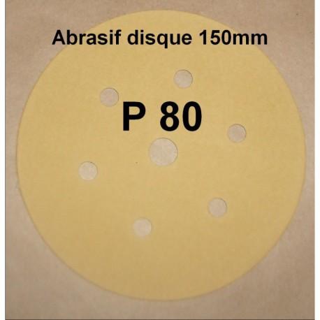 Abrasif disque P80
