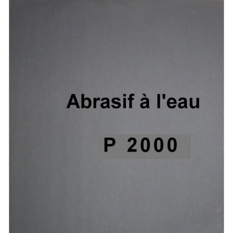Abrasif P2000