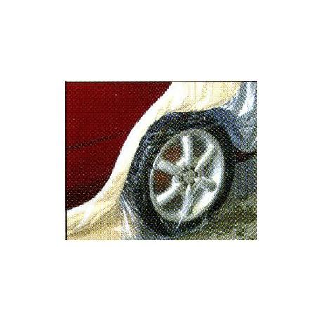 Housse de protection roue jetable