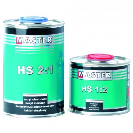 Master HS Acryl Clear Coat 2:1