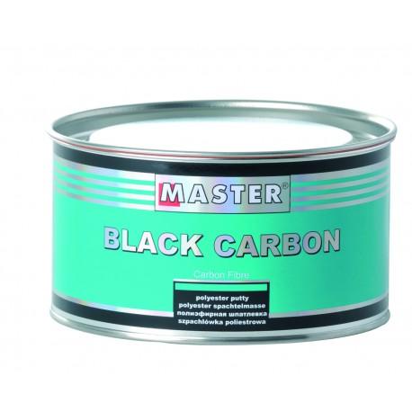 Black Carbon Mastic polyester renforcée aux fibres de carbone