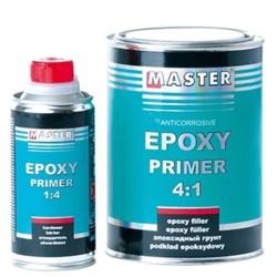 Kit apprêt époxy 0.8l + durcisseur 0.2l