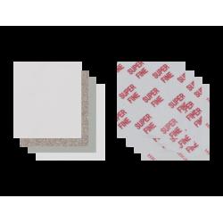 Eponge abrasive SUPER FINE sur mousse  140 x 115 x 6 mm P400-P600