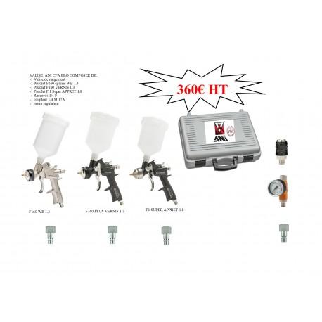 Valise 3 pistolets PRO