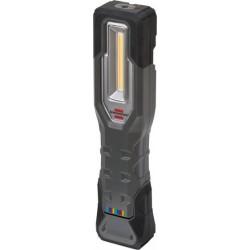 Lampe torche LED rechargeable, 750+170 lumens , lumière du jour