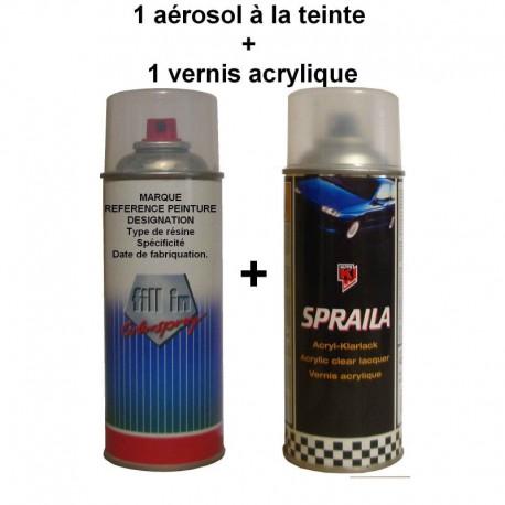 Aérosol à la teinte 400ml 233979+ vernis 400ml 300066