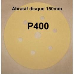 Abrasif disque P400