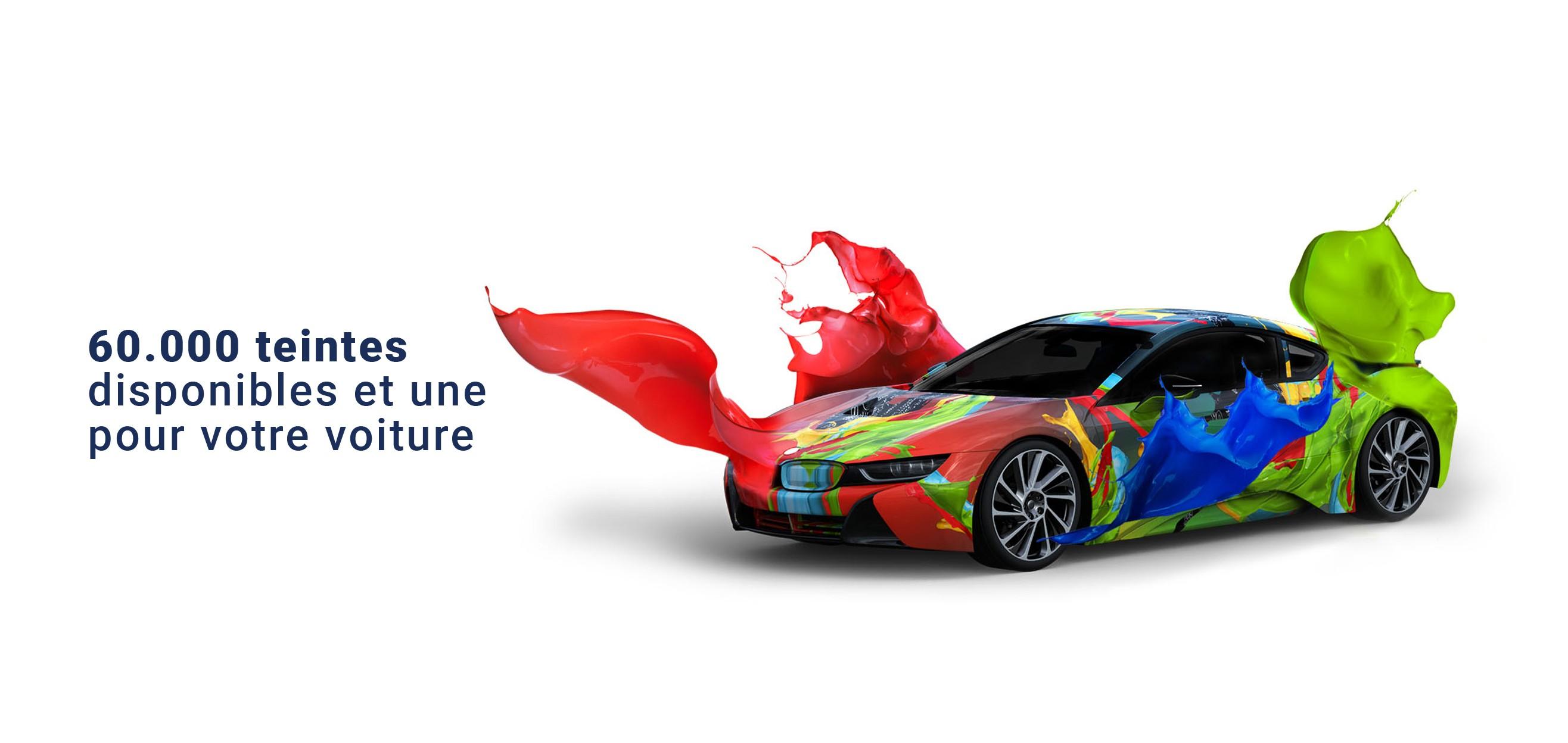 Peinture pour votre voiture